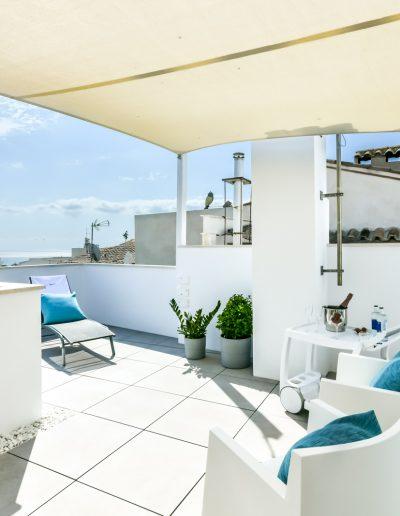 Habitación Superior terraza panorámica