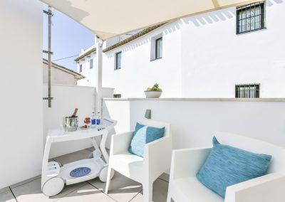 Habitación Superior terraza soleada